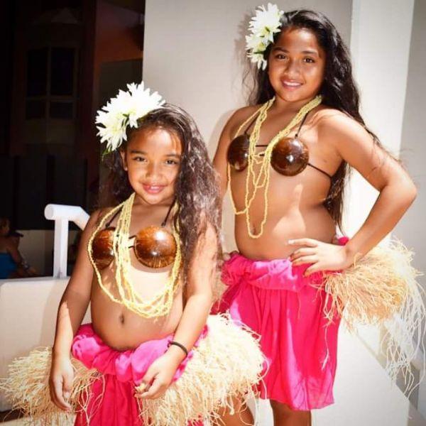 Hawaiian Costume Dress at Maui Luau