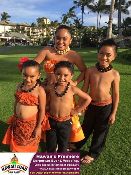 Hawaii Luau Company- Hula Keiki dancers in Maui