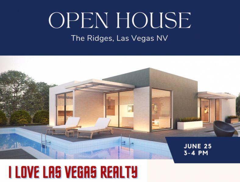 Open House I Love Las Vegas Realty
